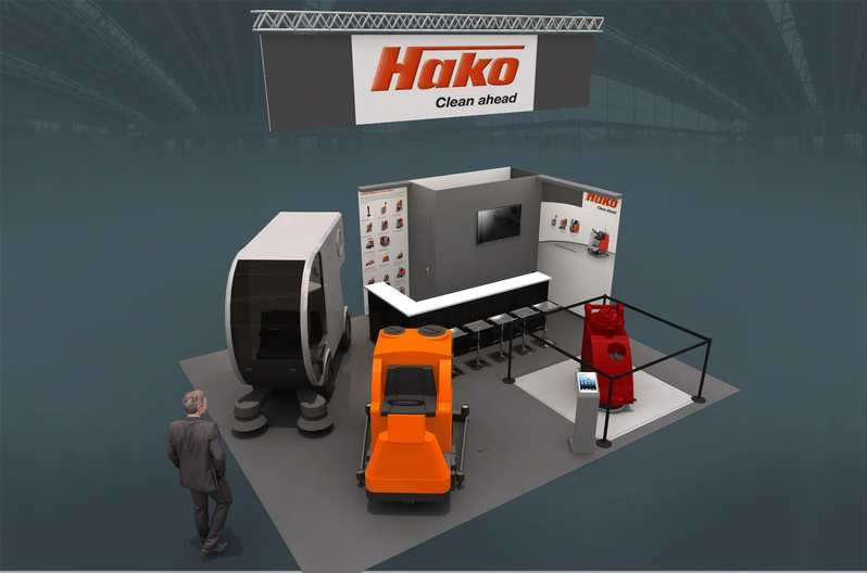 Stand sur-mesure LABOR HAKO au Salon EUROPROPRE
