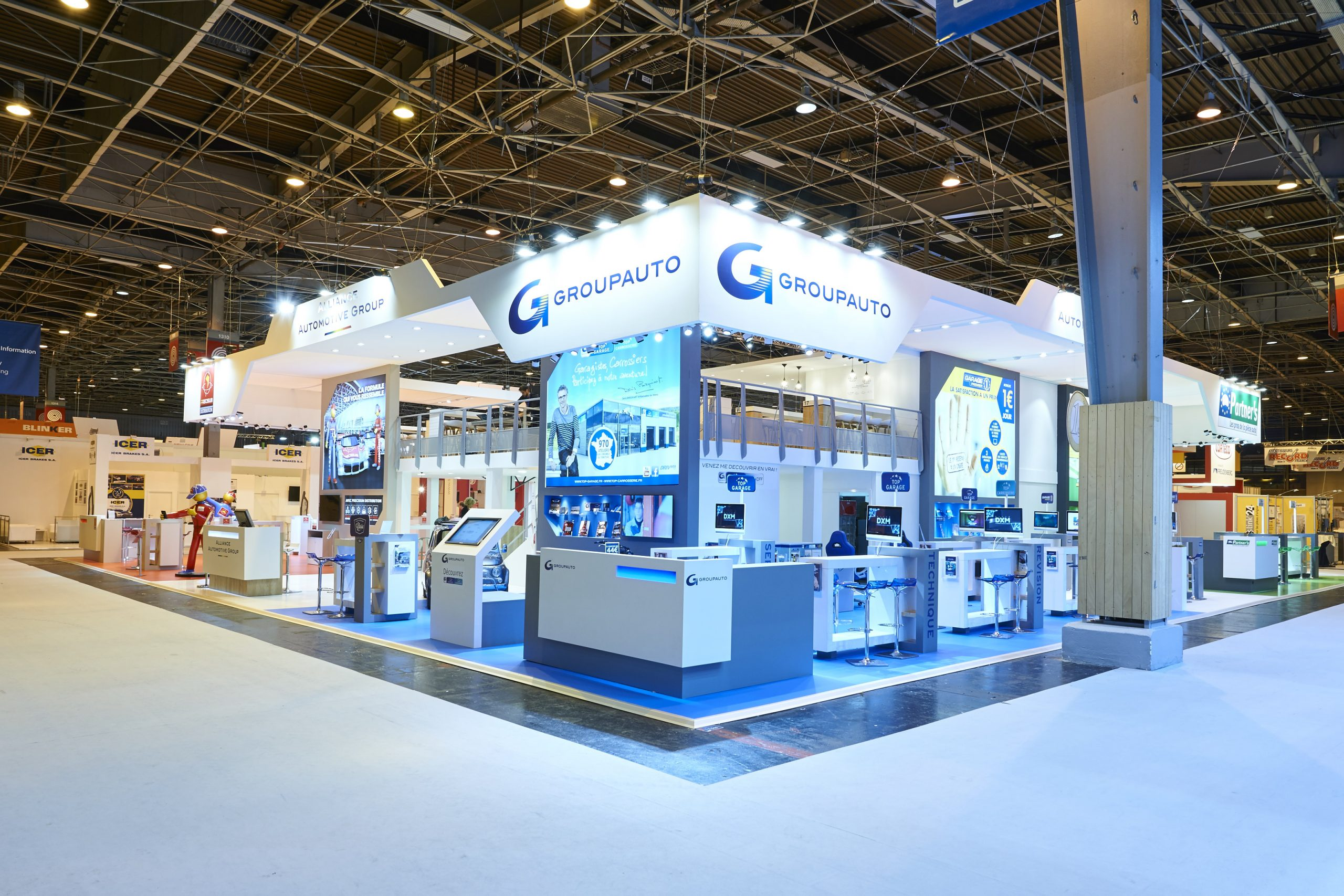 STAND, ALLIANCE AUTOMOTIVE GROUP, SALON, EQUIPAUTO