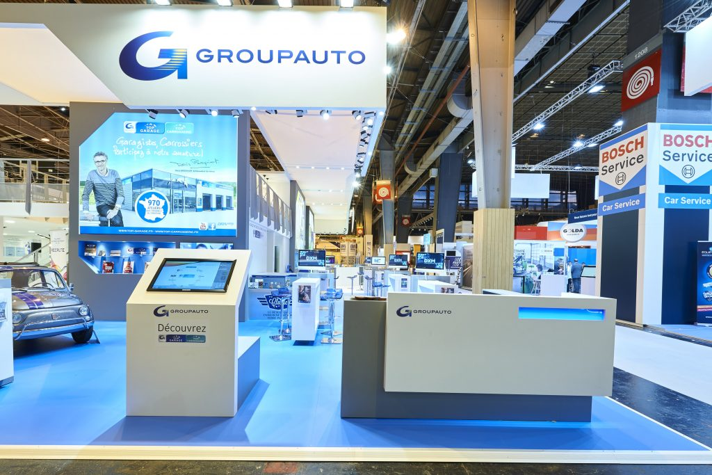 STAND, ALLIANCE AUTOMOTIVE GROUP, SALON, EQUIPAUTO