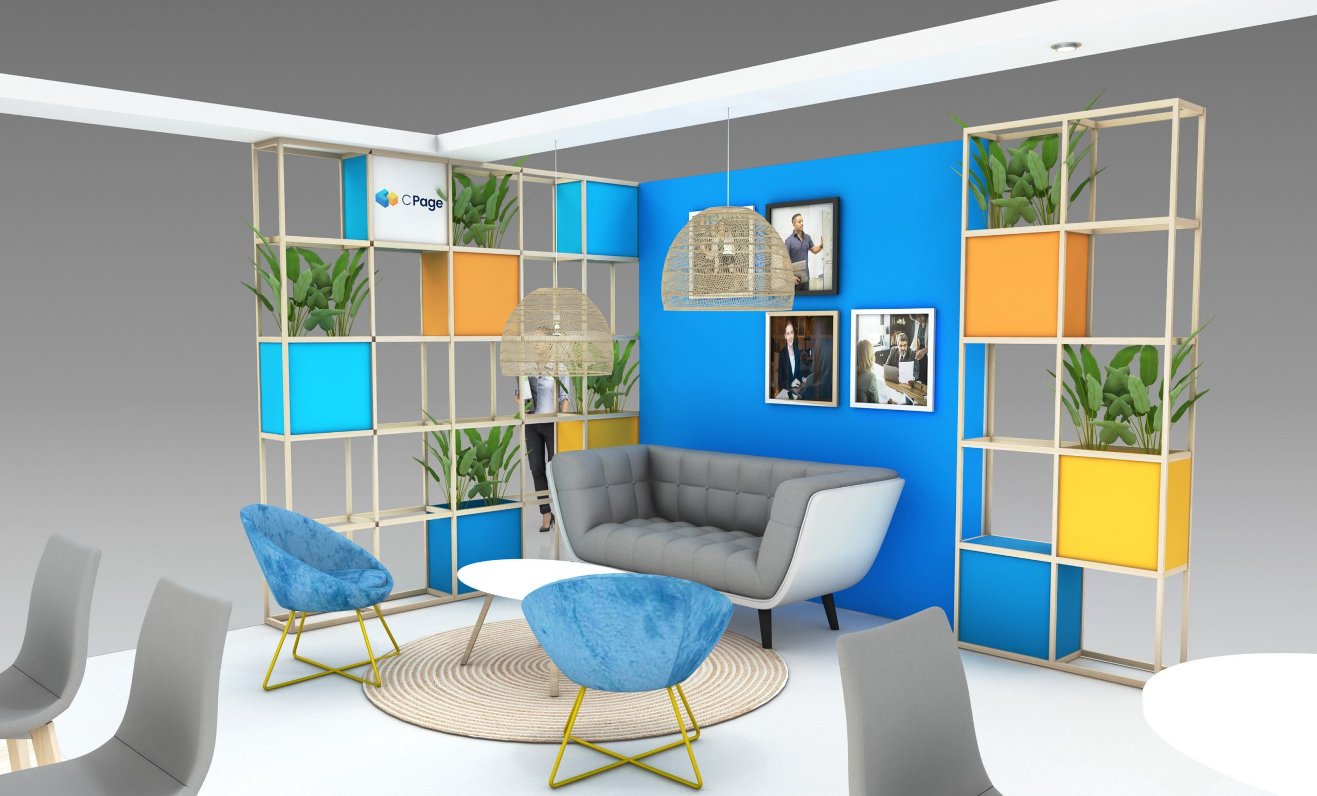 Stand sur-mesure CPAGE sur le salon SANTEXPO 2020
