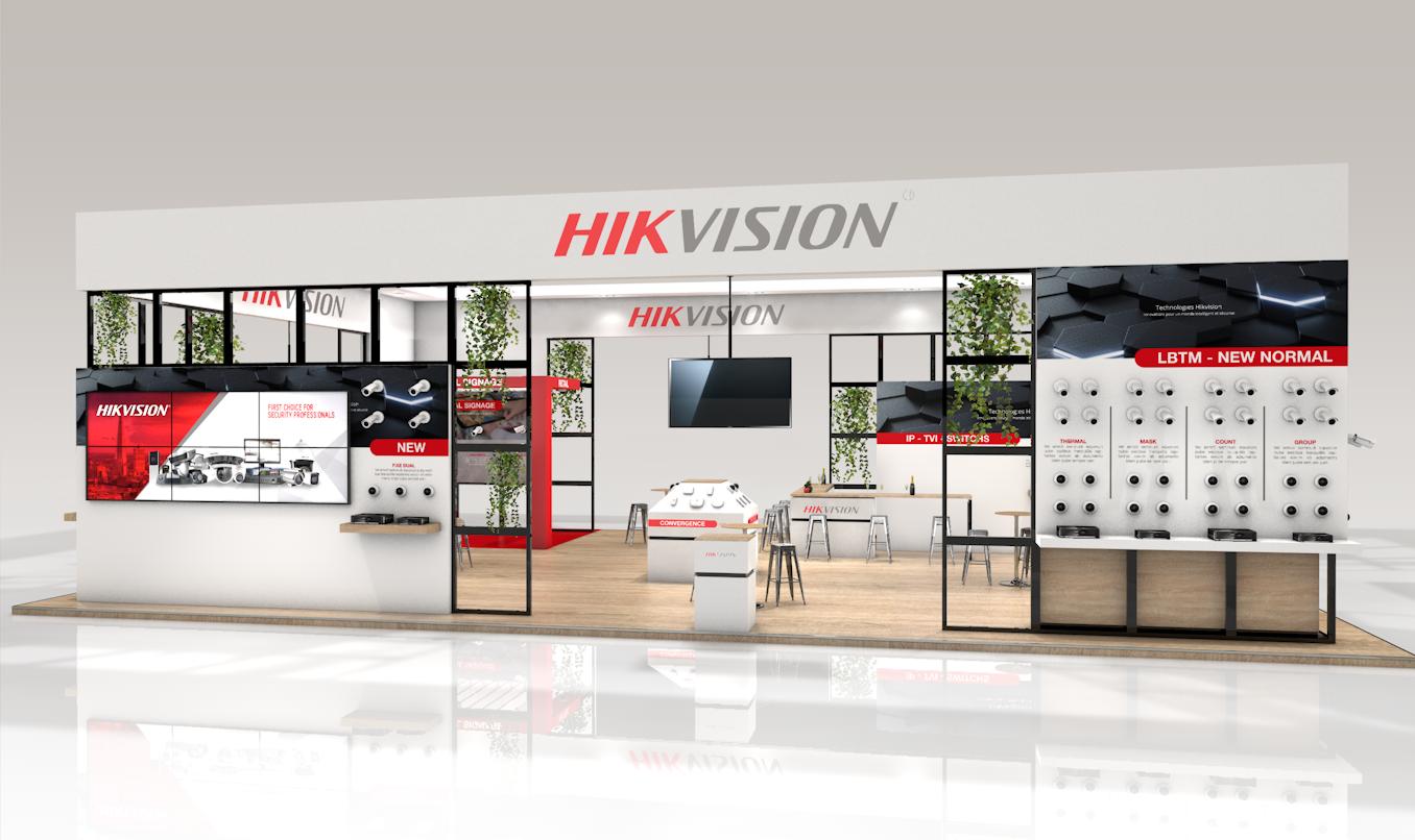 HIK VISION fait confiance à R2 Stand-Event pour son exposition de stand sur-mesure au salon EXPOPROTECTION