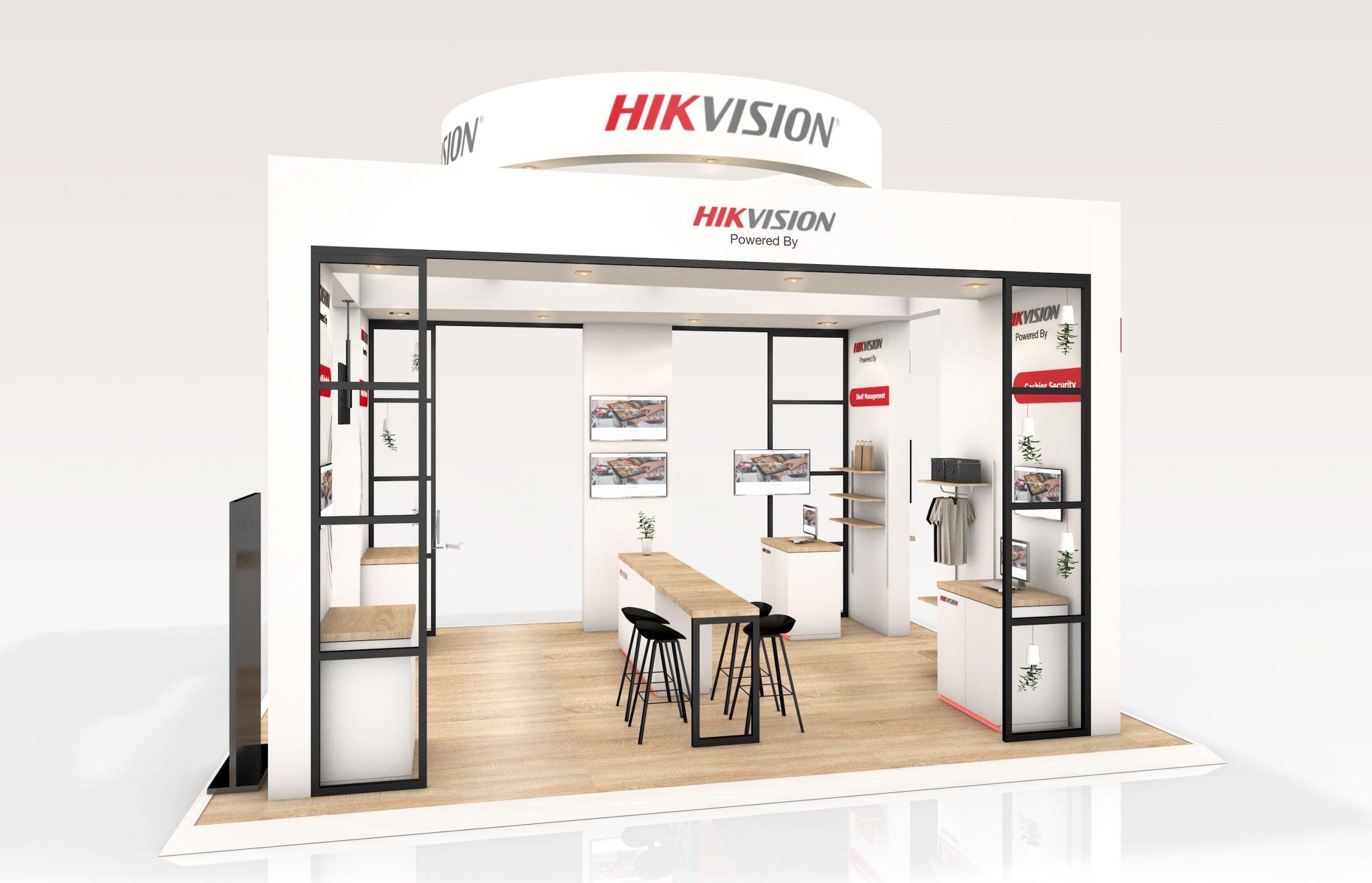 HIK VISION de nouveau aux côtés de R2 Stand & Event dans la réalisation de son stand sur-mesure