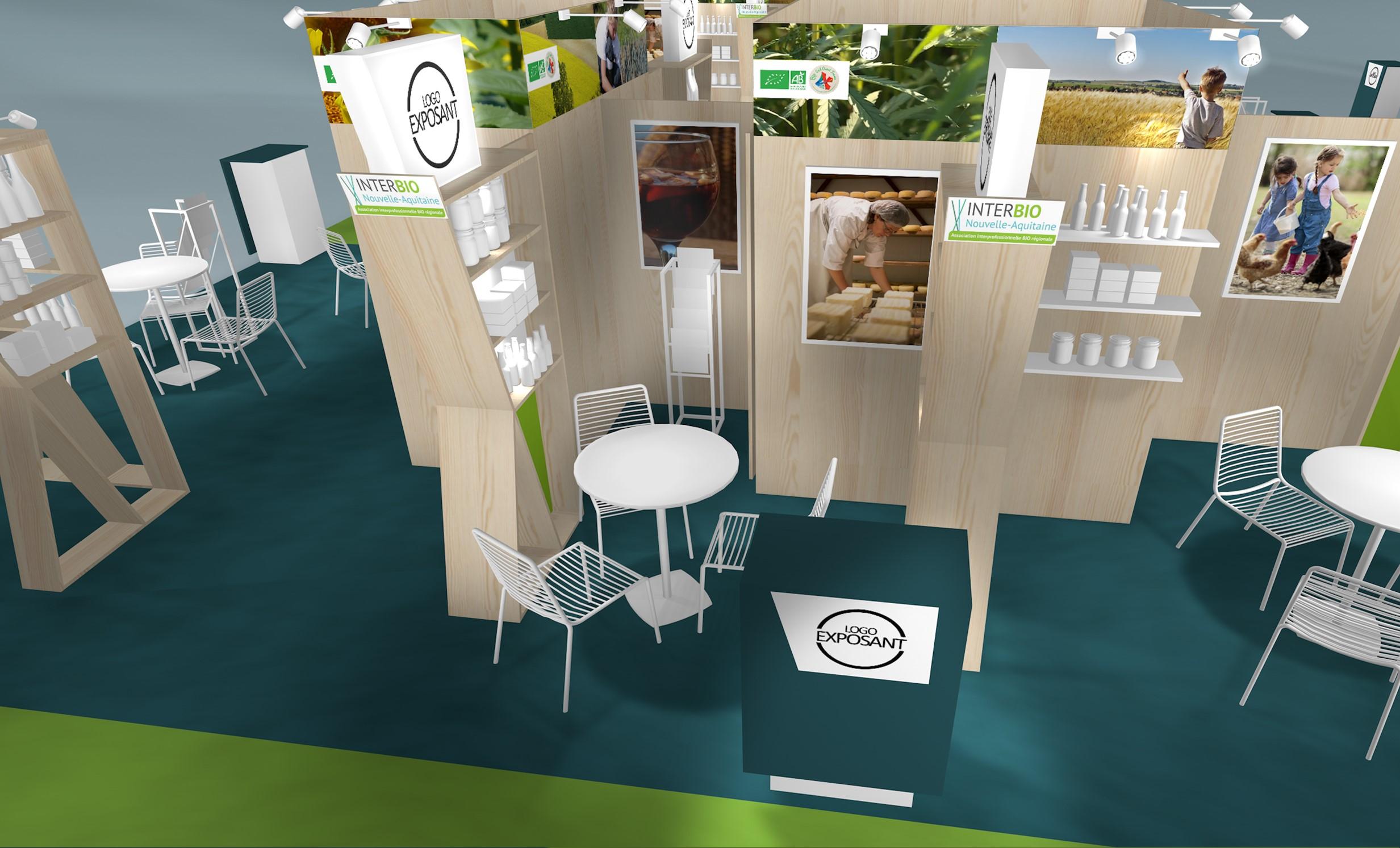 Nouveau projet de stand sur-mesure pour R2 Stand & Event sur les salons NATEXPO et BIOFACH