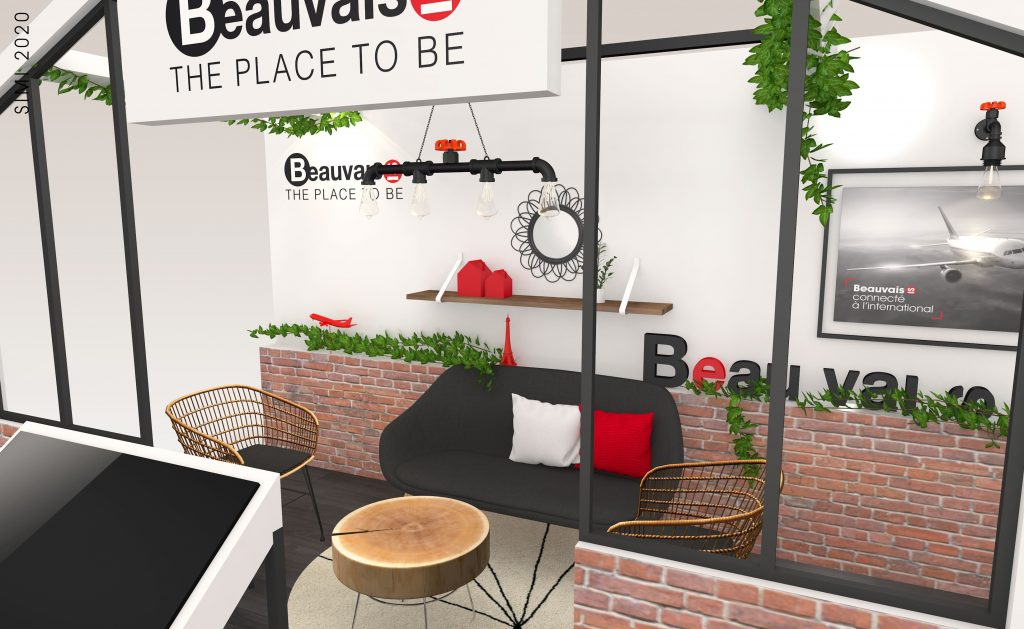 STAND BEAUVAIS THE PLACE TO BE SALON SIMI