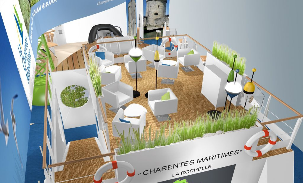 STAND CG17 SALON NAUTIC