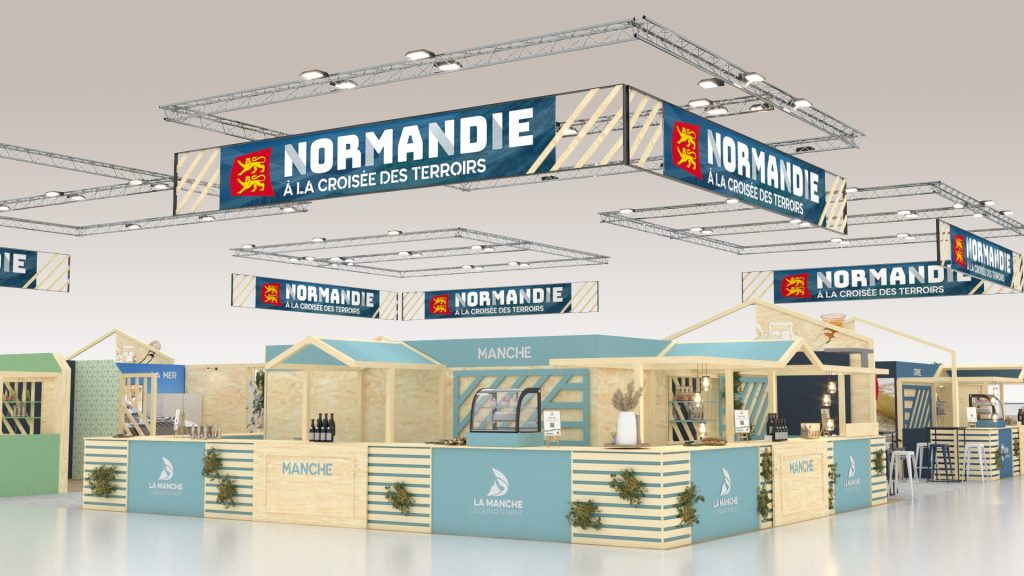 STAND CHAMBRE REGIONALE D'AGRICULTURE DE NORMANDIE SALON SIA