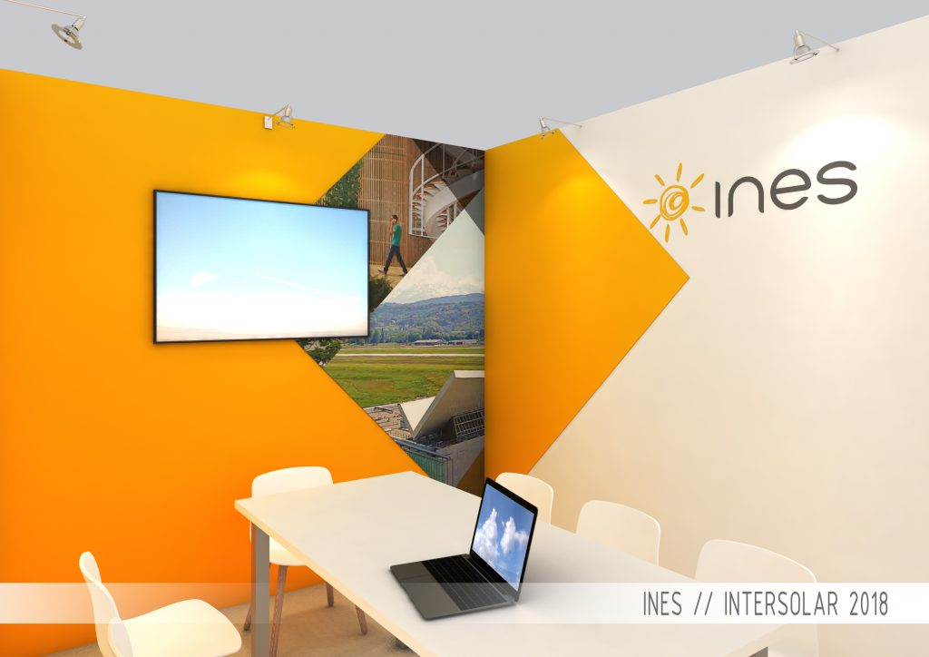 STAND INES SALON INTERSOLAR