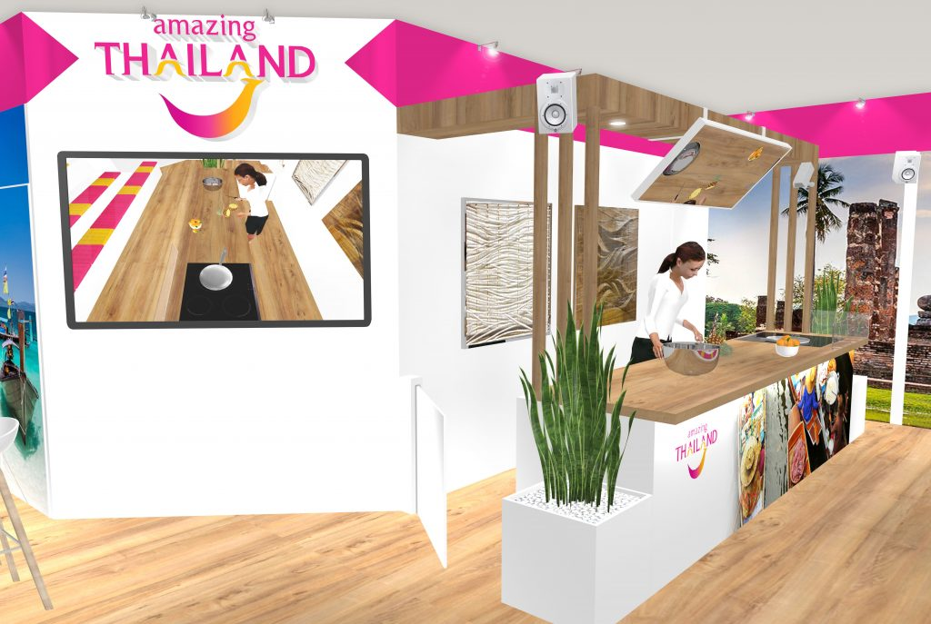 STAND ONT THAILANDE SALON TASTE OF PARIS
